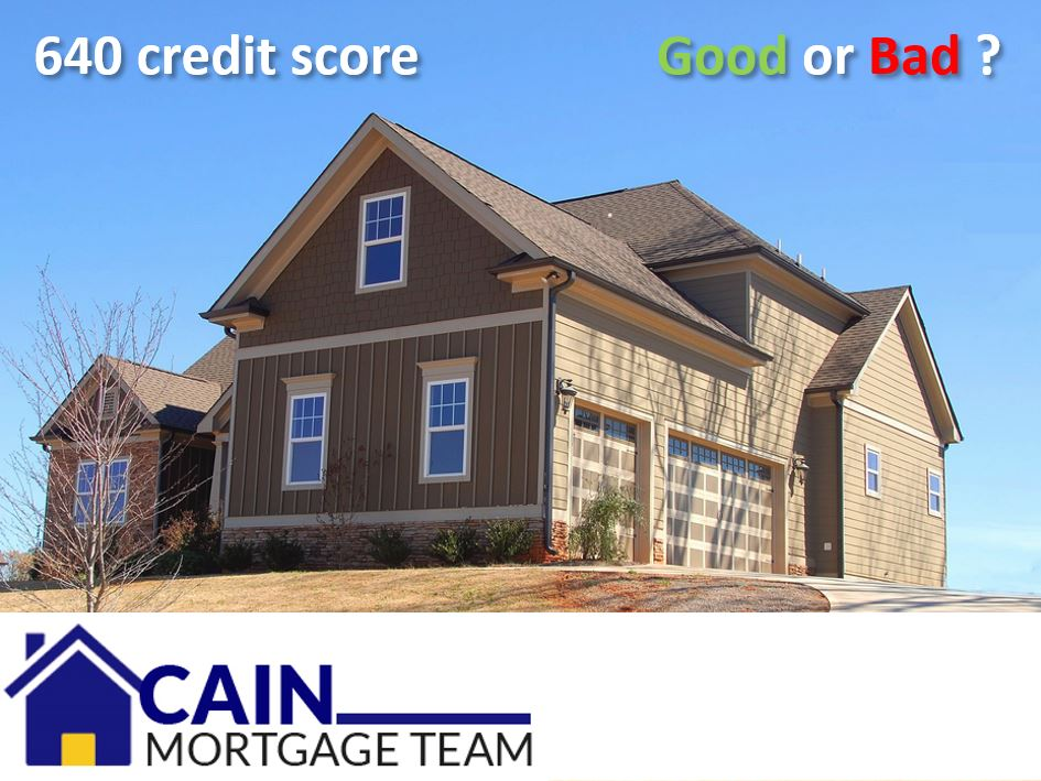 640 credit score