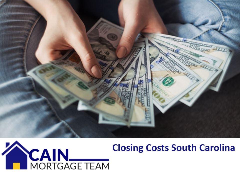 Closing costs South Carolina