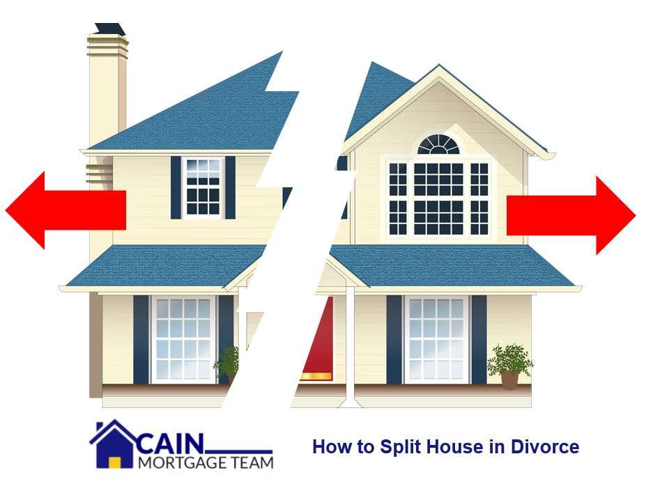 How to split house in divorce