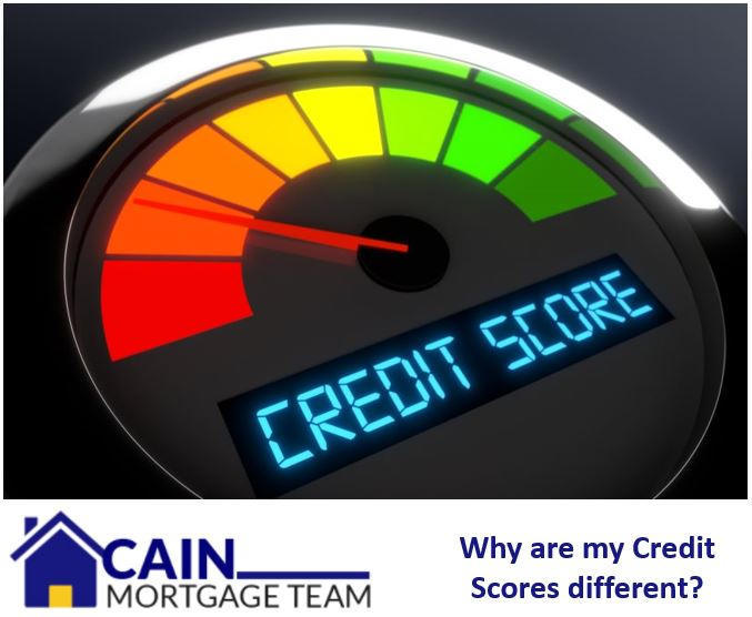 Why are my credit scores different