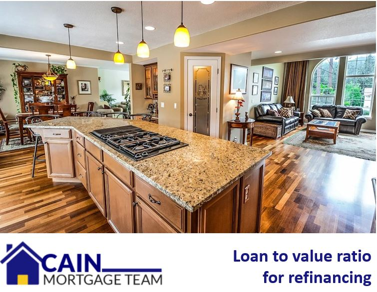 Loan to value ratio for refinancing