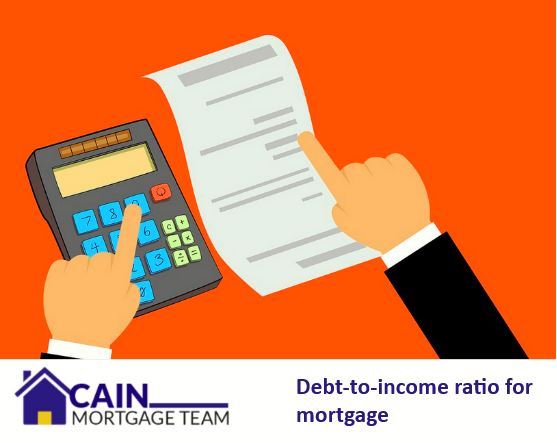 debt-to-income ratio for mortgage