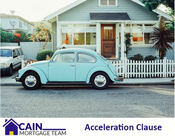 what is the acceleration clause
