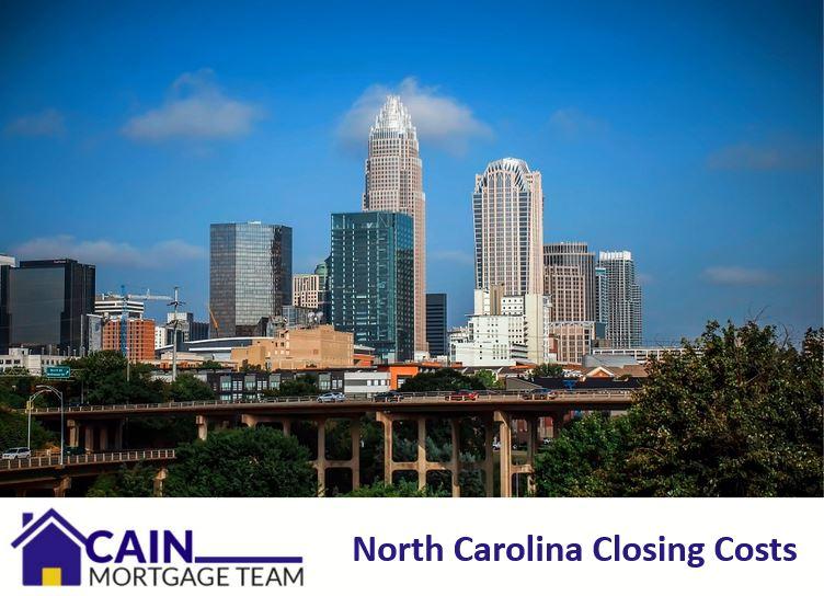 north carolina closing costs